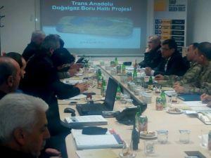 Tanap Projesi Dondurucu Soğuklara Rağmen Tüm Hızıyla Devam Ediyor