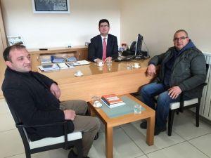 Oda Başkanlarından Halk Bankası Müdürü Yurttaş'a Ziyaret