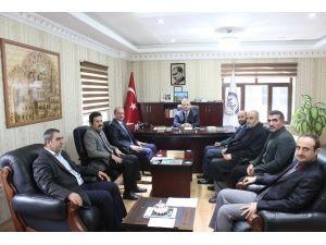 Din-bir-sen Genel Başkanı Özdemir Mardin'de