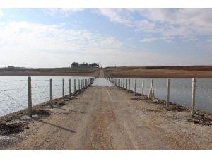 Çamgazi Barajına Tel Örgülü Güvenlik