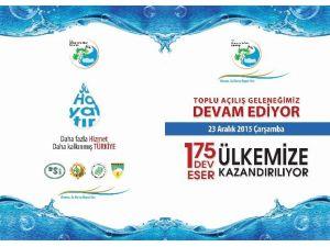Başbakan Ahmet Davutoğlu'nun Hizmete Açacağı Eserlerden Malatya Da Payını Alacak