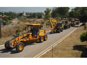 Kepez Belediyesi, İş Makinesi Parkına 30 Yeni Araç Dahil Ediyor