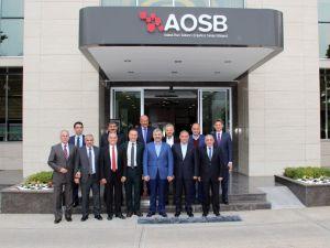 Kayseri ve Şanlıurfa büyükşehir belediye başkanları, Adana OSB'yi ziyaret etti