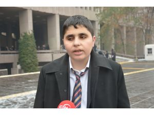 Engelli gazeteci Arat, Erdoğan'a hakaretten ifade için Adana'dan Ankara'ya geldi
