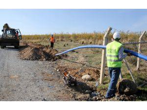 Arsuz'daki cezaevinin içme suyu hattı yapıldı