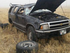 Niğde'de araç takla attı, bir kişi yaralandı