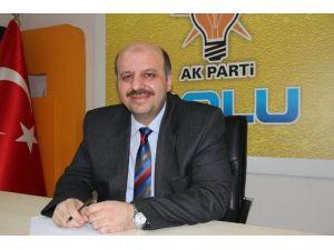 Milletvekili Ercoşkun'dan Boluspor Başkanına Destek