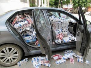 Gürün'de 14 Bin Paket Kaçak Sigara Ele Geçirildi