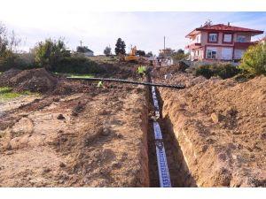 Manavgat'ta Alt Yapı Çalışmaları Devam Ediyor