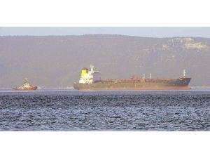 Rusya'ya Giden Tanker Çanakkale Boğazı'nda Arızalandı