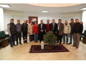 Burhaniye'de Belediye İş Yeri Temsilcileri Seçildi