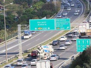 Köprü ve otoyol gelirleri yüzde 3,2 arttı