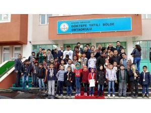 Sarıveliler'de Okullararası Satranç Turnuvası