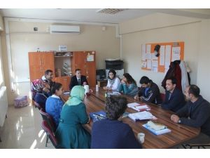 Kaymakam Sağ, Köy Okullarını Ziyaret Etti