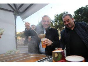 Belediyeden Vatandaşlara Sabah Çorbası