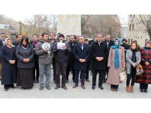 Iğdır'da Basın Açıklaması