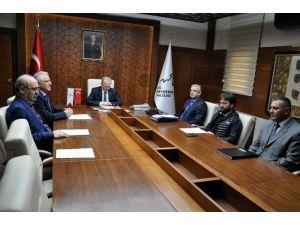 Kaphib Toplantısı Vali Ceylan Başkanlığında Yapıldı