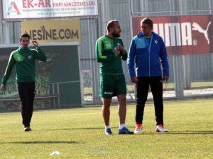 Bursaspor, kupada Eskişehirspor mesaisine başladı