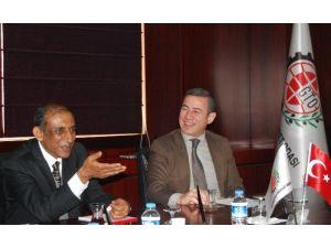 Hindistan Büyükelçisi Kulshreshth, GTO'yu Ziyaret Etti