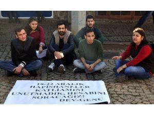 AÜ'de 'Hayata Dönüş' Eylemi