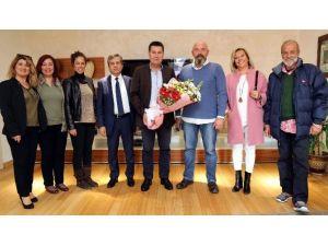 Okul Yöneticileri, Başkan Kocadon'a Teşekkür Etti