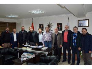 AK Parti Darıca Teşkilatından Başkan Yurdunuseven'e Ziyaret