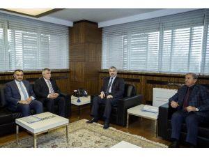 AK Parti Kayseri Milletvekili Sami Dedeoğlu Başkan Çelik'i Ziyaret Etti