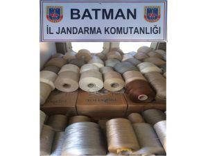 Batman'da 11 bin kaçak sigara ele geçirildi