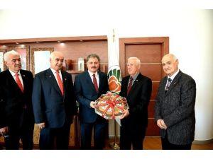 Kıbrıs Gazileri, Başkan Çakır'ı Ziyaret Etti