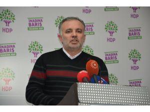 HDP'den Davutoğlu'na tepki: Parlamento ders alınan, ders verilen yer değil