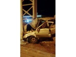Malatya-elazığ Karayolu'nda Kaza: 1 Yaralı