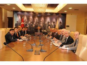 Bafra Sera OSB Ve Havza OSB Müteşebbis Toplantısı Yapıldı