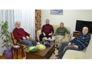 Kaymakam Sonel'den Atabey Ailesine Taziye Ziyareti