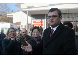 CHP'li Özel Şehit Yakınının Feryadını Dile Getirdi
