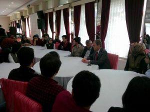 Milletvekili Kavuncu, Ensar Vakfı'nın Ev Sahipliğinde Öğrencilerle Bir Araya Geldi