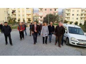 Milletvekili Depboylu, Toprak Kayması Mağdurlarını Ziyaret Etti