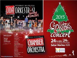 Kuşadası Oda Orkestrası'ndan Christmas Konseri