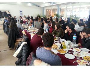 Genç İMO Üyeleri Ve BEÜ Öğretim Görevlileri Kahvaltıda Buluştu