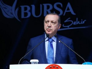 Erdoğan: Terör örgütünün açtığı hendeklere gömüleceğinden şüpheniz olmasın