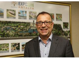 """Aıph EXPO'lar Danışmanı Sven Stimac: """"EXPO 2016 Antalya Birçok Açıdan Benzersiz Olacak"""""""