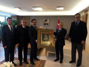 KTO Başkanı Öztürk'ten Bakan Ağbal'a Ziyaret