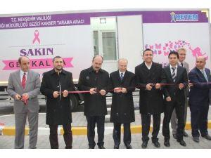 Nevşehir'de Kanser Teşhis Aracı Hizmete Girdi