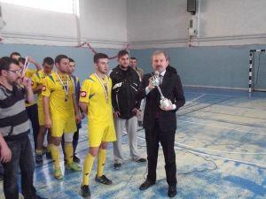 Gediz Mna Anadolu Lisesi Kütahya Futsal Yarışmalarında İl Birincisi