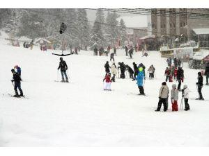 Uludağ'da Kar Sıkıntısı