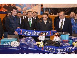 Darıca'da Amatör Spora Destek