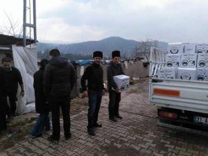 Bayırbucak Türkmenlerine Terekeme Ve Karapapak Derneğinden Yardım Eli