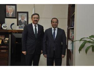 AK Parti Kocaeli Milletvekili Yılmaz'dan, Başkan Toltar'a Ziyaret