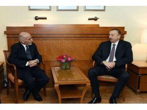 Gani, İlham Aliyev ile bir araya geldi