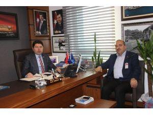 Başkan Uzun'dan Milletvekili Tunç'a Ziyaret