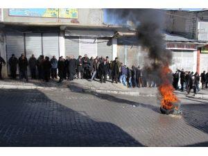 Başkale'de Protesto